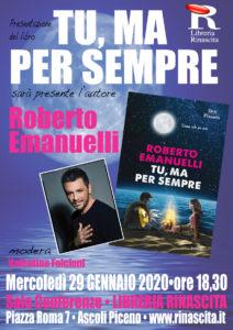 Ascoli Piceno: alla Libreria Rinascita torna Roberto Emanuelli con il suo nuovo romanzo