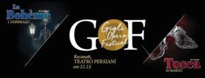 Puccini protagonista con Boheme e Tosca per il Gigli Opera Festival al Teatro Persiani di Recanati
