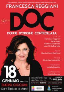 DOC Donne d'Origine Controllata con Francesca Reggiani al Teatro Cicconi di Sant'Elpidio a Mare