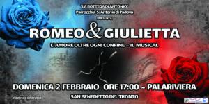 Romeo e Giulietta, il nuovo musical della Bottega di Antonio a febbraio al PalaRiviera