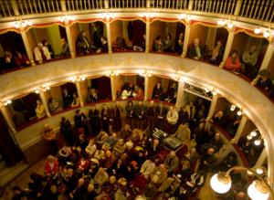 L'Accademia OffiCine Teatrali A.I.F.A.S. incanta Trevi (PG) con Francesca da Rimini