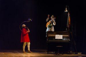 San Benedetto: clownerie e comicità di Casa de Tàbua, ultimo appuntamento di Domenica in Famiglia al Cocncordia