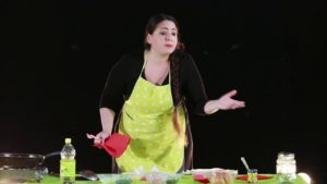 """Kitchen Stories #1 della ditta Alesse-Argira in scena al Teatro delle Energie di Grottammare"""" DELLA DITTA ALESSE-ARGIRA IN SCENA I"""