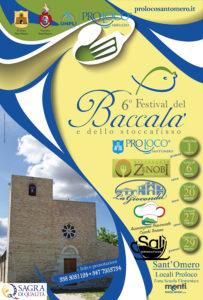 Festival del Baccalà a Sant'Omero. Cinque appuntamenti con il piatto d'eccellenza del territorio. Partenza il 1° marzo