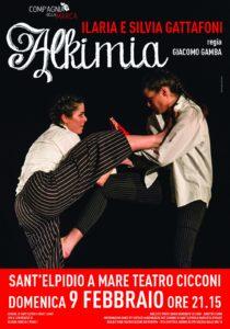 Sant' Elpidio a Mare: domenica sera Alkimia al Teatro Cicconi
