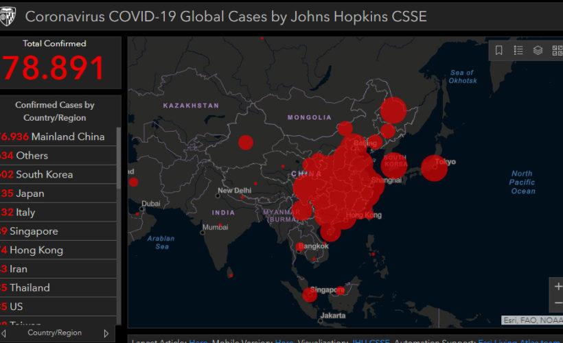 Mappa In Tempo Reale Del Coronavirus Nel Mondo Tm Notizie Ultime Notizie Di Oggi Cronaca Sport