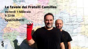 Le favole dei fratelli Camillas allo Spazio Betti di Fermo