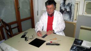 Il Maestro Carlo Iacomucci espone alla Casa Vinicola Garofoli di Villa Musone