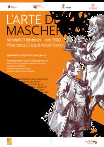 L' Arte della Maschera, conferenza spettacolo alla Pinacoteca Civica di Ascoli Piceno