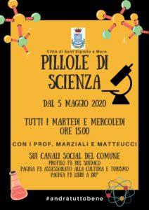 Sant' Elpidio a Mare dal 5 maggio ecco Pillole di scienza