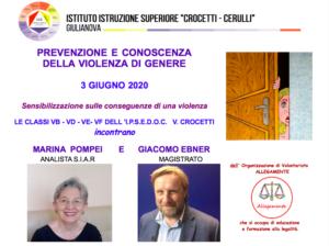 Prevenzione e conoscenza della violenza di genere, convegno all' IIS Crocetti Cerulli di Giulianova