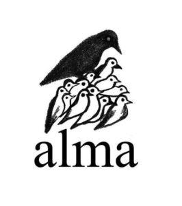 Il logo ufficiale di Alma è un dono del grande artista marchigiano Enzo Cucchi