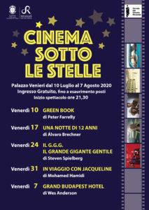 A Recanati dal 10 luglio riparte Cinema sotto le stelle