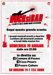 Pesaro: RockSì Bar, circa 20mila visualizzazioni per la maratona musicale on-live