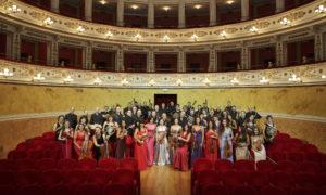 La Filarmonica Gioachino Rossini all'inaugurazione della rassegna Miralteatro d'Estate a Pesaro