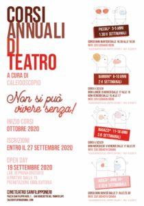 San Benedetto, aperte le iscrizioni per i corsi annuali di teatro con Caleidoscopio