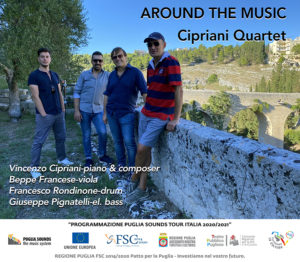 Anticipazione di stagione per il Politeama di Tolentino: Cipriani Quartet con Around the Music