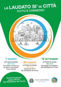 San Benedetto: la Laudato sì in città, terza tappa presso zona a nord stadio Ballarin