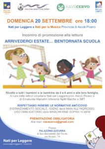Arrivederci estate…bentornata scuola, domenica alla Palazzina Azzurra di San Benedetto